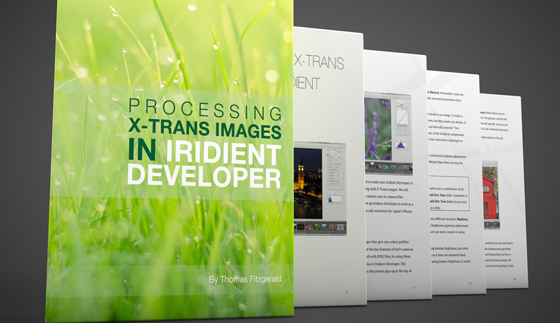 A Guide for Processing X-Trans images in Iridient Developer