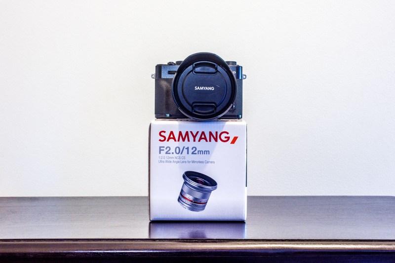 SAMYANG 12mm f2 NCS CS Ultra wide angle lens for Mirrorless