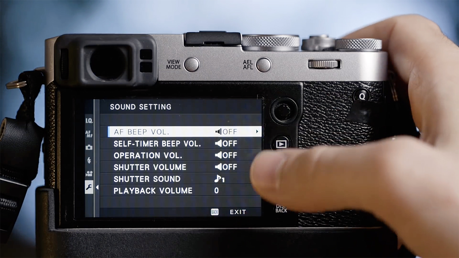 Fujifilm X100F and the settings for Street Photography