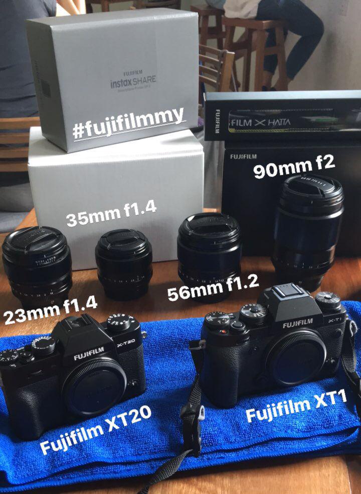 Ryan Chew, Food Photographer: My Fujifilm Photography Gear